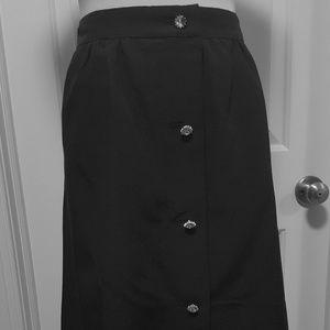 New Talbots Size 8 Cocktail Skirt Beautiful